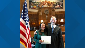 Perfect 10: Hard work and dedication pays off for this new US citizen