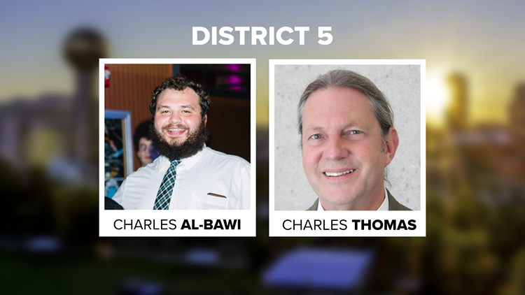 City Council District 5 Seat contenders