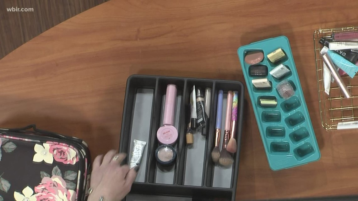 How to organize your beauty products