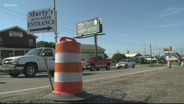 Driving You Crazy: Hwy 11, Hwy 321 Lenoir City project delayed