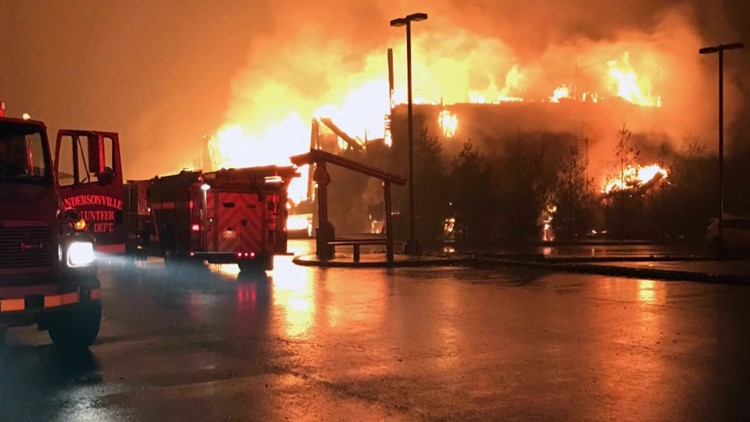 Westgate Resort Andersonville Truck Gatlinburg 2016 Wildfire