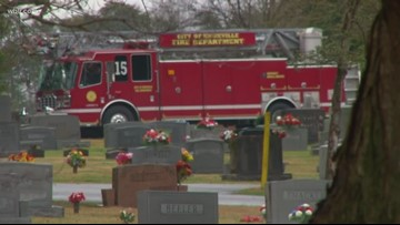 Son of KFD captain laid to rest