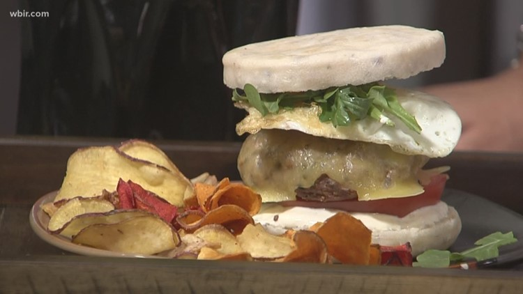 In the kitchen: Father's Day brunch burger