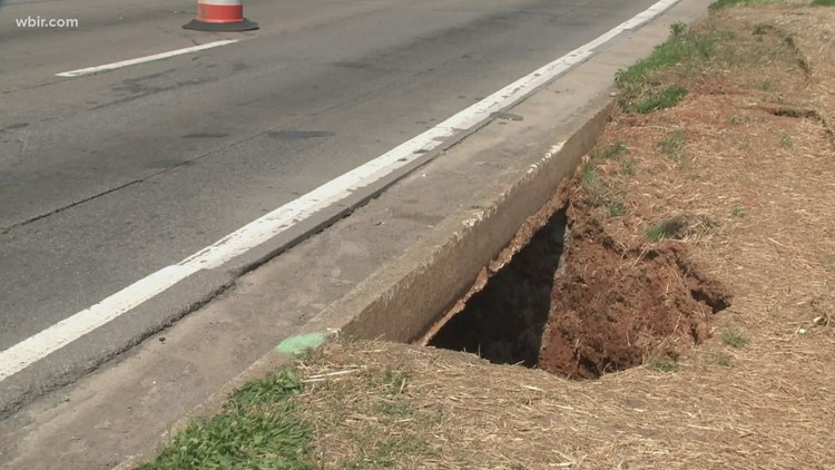 TDOT working to repair Maryville sinkhole