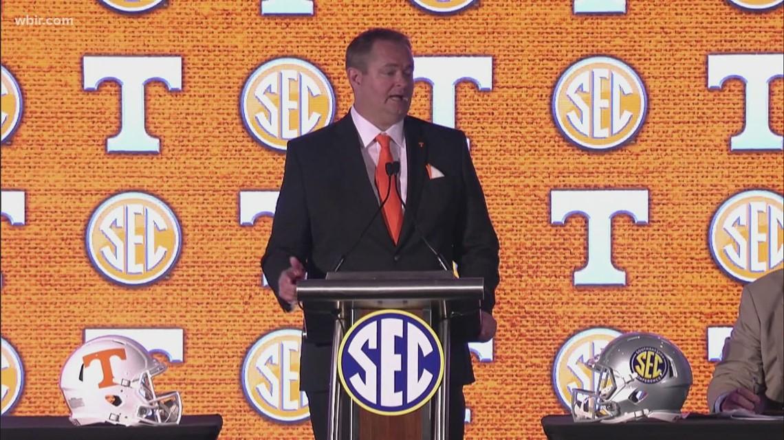 SEC Media Days underway in Alabama