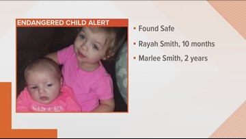 TBI: Missing girls found safe