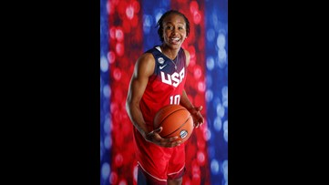 Tamika Catchings named to the Women's Basketball Hall of Fame