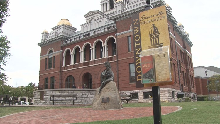 Two downtown Sevierville streets to close as Sevier County celebrates 225th anniversary
