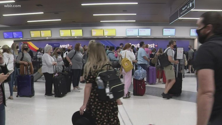 'It was a nightmare:' Nashville travelers detail airplane travel woes
