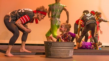 Dragonfly Circus takes its annual Extravaganza underwater