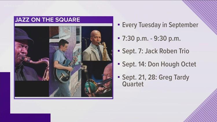 Jazz concerts return to Market Square for September concert series