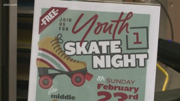 Change Center hosts youth skate night
