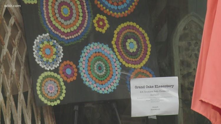 Art show held to benefit school art programs