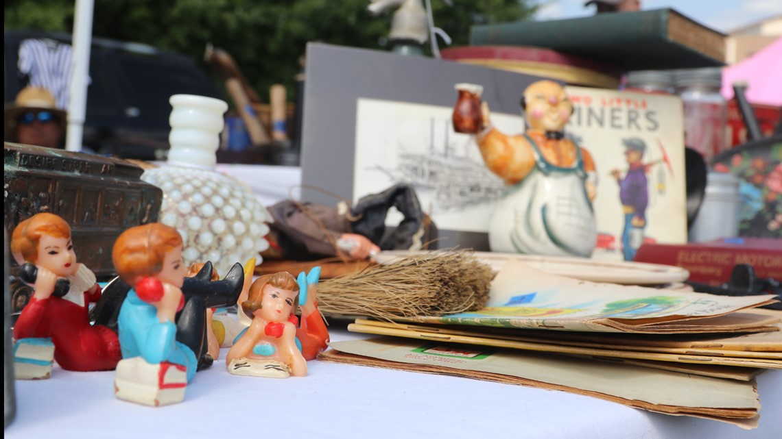 Why would you hike the AT when marching along this 690-mile yard sale will suffice?