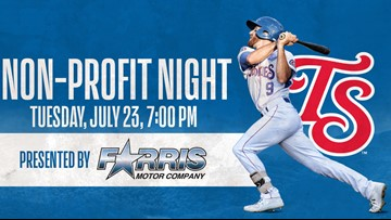 Tennessee Smokies to host non-profit night on July 23