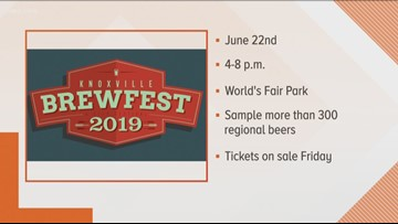 Knoxville BrewFest announces 2019 dates