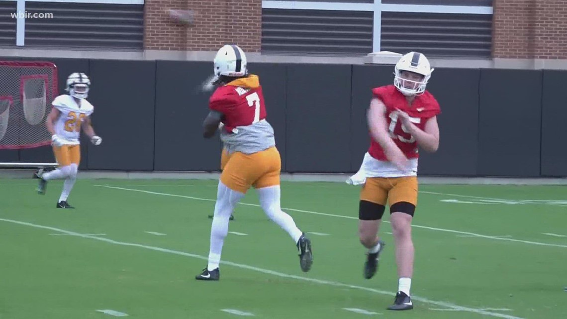 Tennessee Football holds first preseason practice