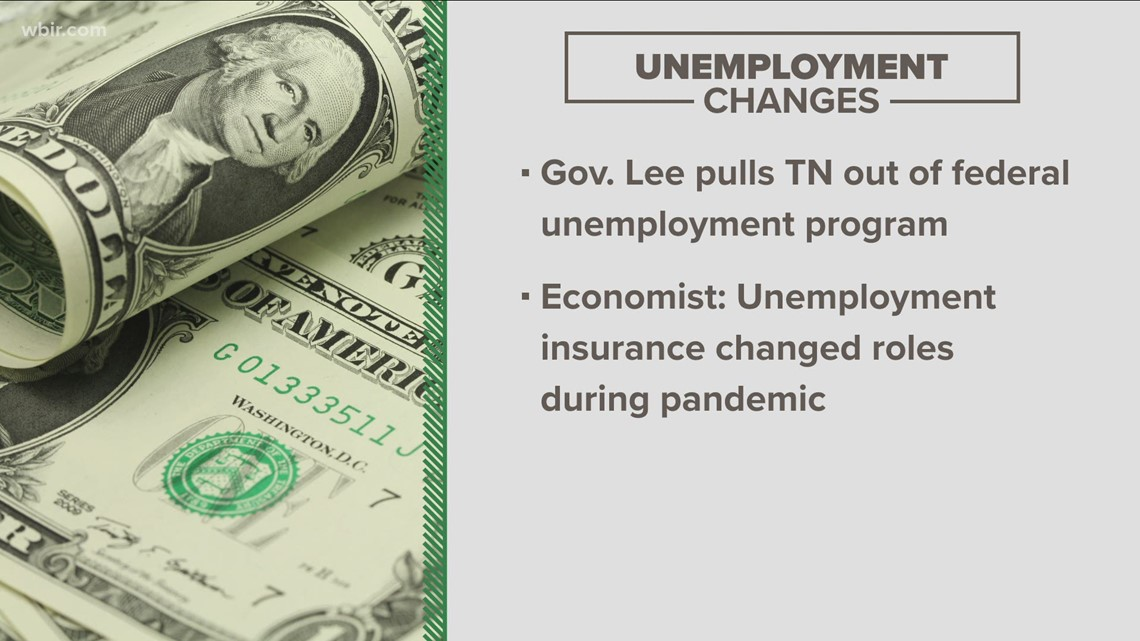 Tennessee backs out of federal unemployment benefits