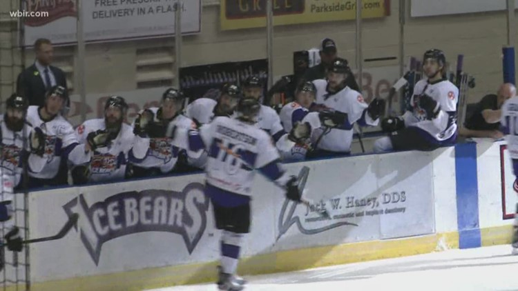 Brrr! Knoxville Ice Bears to play at home, host Teddy Toss & wiener dog race