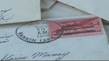'They're priceless' | Nearly a dozen World War II love letters returned after being found in a Sevierville knife store