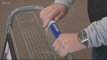 Does wiping down shopping carts really protect you from germs?