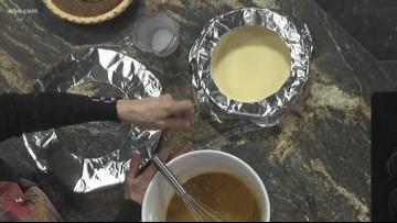 A dairy and gluten free twist on a Pumpkin Pie
