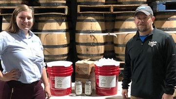 Distilled hope: Sugarlands Distillery donates 10 gallons of fresh hand sanitizer to first responders