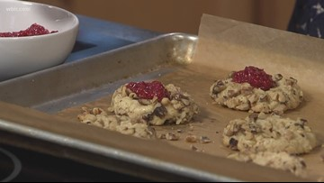 In the Kitchen: Thumbprint cookies