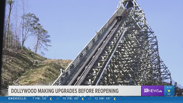 Dollywood making upgrades ahead of reopening
