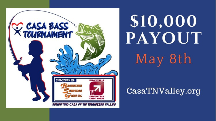 $10,000 up for grabs during CASA Bass Tournament