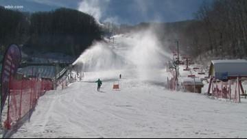Colder weather brings snow to the slopes of Ober Gatlinburg
