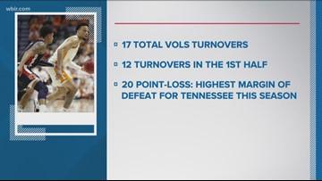 Vols fall short in SEC title game, 84-64