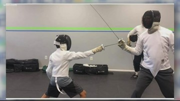 Jr. anchor Tristan talks about his favorite hobby-fencing