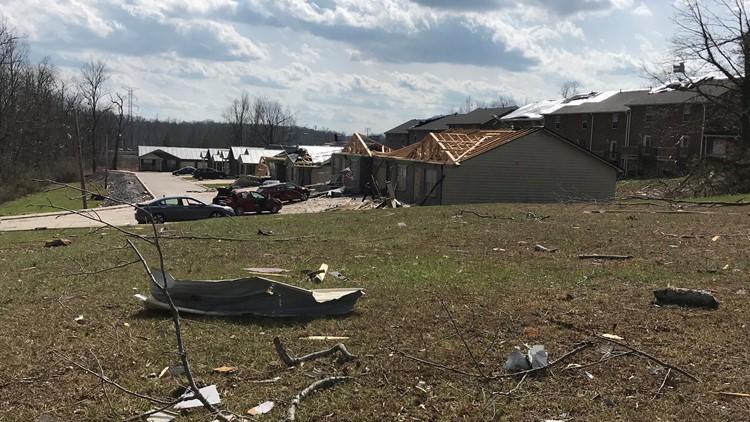 Putnam County tornado damage