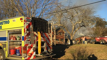 Rural Metro responds to house fire in East Knoxville