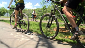 City of Knoxville closes mountain biking trails