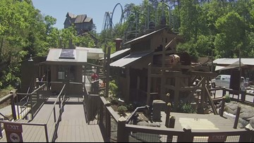 Drop Line at Dollywood