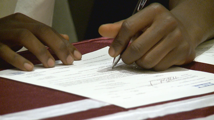 National Signing Day 2019: Local athletes sign letters of intent with colleges