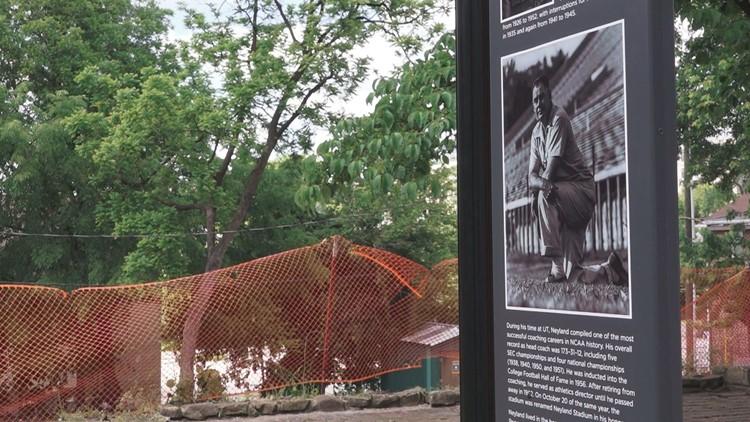 Historic marker installed at razed Neyland house
