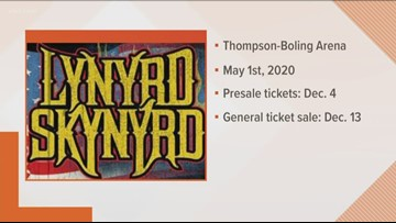 Lynyrd Skynyrd to play Thompson-Boling Arena May 1, 2020