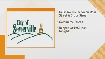 Sevierville closes roads for Sevier County's 225th anniversary celebration