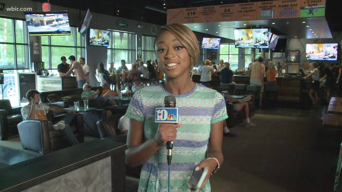 Fans cheer on Vols in College World Series on Tuesday