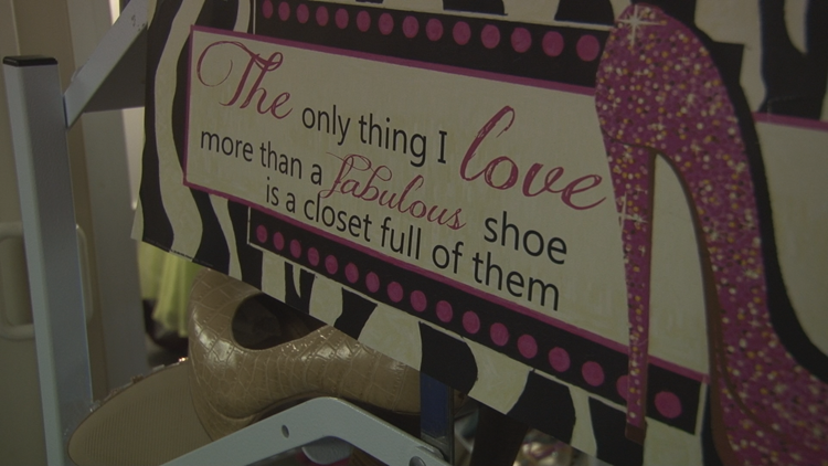Cinderella's Closet donates shoes to girls for prom