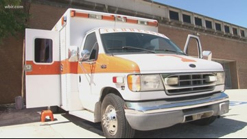 'The Tennessee Tailgate Unit' is an orange ambulance saving game day