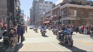 Knoxville hosts 94th Annual Veterans Day Parade