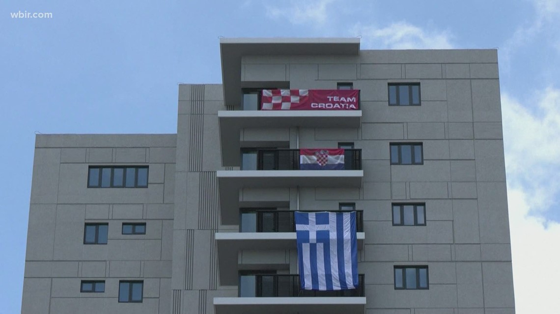 COVID cases reported in Olympic  Village