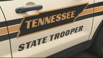 THP trooper taken to hospital after crash on I-40 in West Knoxville