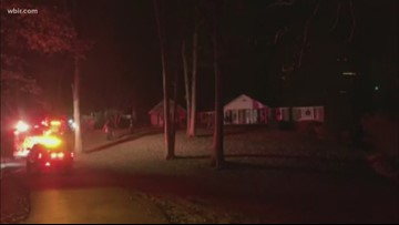 Security system alerted out-of-town North Knoxville homeowners to fire