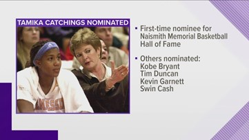 Tamika Catchings nominated to Basketball Hall of Fame