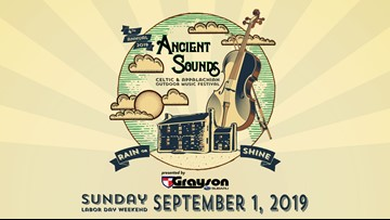 Ancient Sounds Celtic and Appalachian Outdoor Music Festival